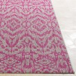 Product Image of Light Grey, Pink, White (TNG-2325) Outdoor / Indoor Area Rug