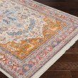 Product Image of Aqua, Saffron, Burnt Orange Traditional / Oriental Area Rug