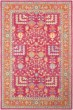 Product Image of Traditional / Oriental Pink, Yellow, Denim, Orange (FIR-1000) Area Rug