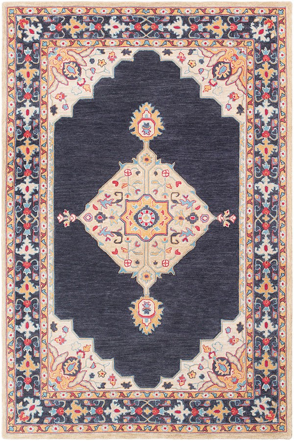 Surya Fire Work Traditional Rugs Rugs Direct