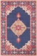 Product Image of Traditional / Oriental Navy, Bright Red, Khaki, Mustard (FIR-1005) Area Rug