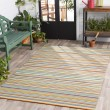 Product Image of Dark Blue, Lime, Taupe, Burnt Orange (MTM-1002) Outdoor / Indoor Area Rug