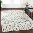 Product Image of Teal, Butter, Medium Gray Moroccan Area Rug