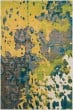 Product Image of Butter, Lime Abstract Area Rug