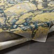Product Image of Butter, Teal Abstract Area Rug