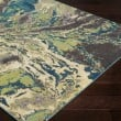 Product Image of Lime, Butter, Teal Abstract Area Rug