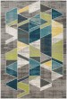 Product Image of Teal, Lime Geometric Area Rug