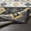 Product Image of Butter, Medium Gray, Black Southwestern / Lodge Area Rug
