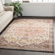 Product Image of Peach, White, Charcoal, Rust, Sage, Camel Vintage / Overdyed Area Rug