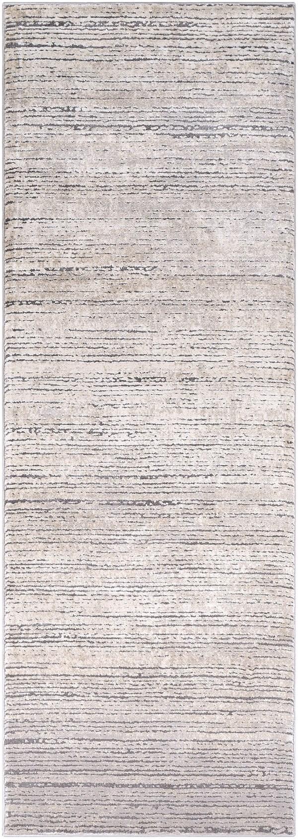 Khaki, Taupe, Medium Grey, Ivory Contemporary / Modern Area Rug