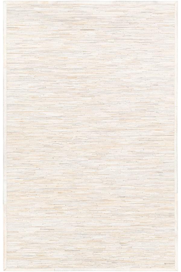 White, Beige, Taupe (ZND-1006) Animals / Animal Skins Area Rug