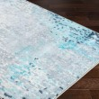 Product Image of Sea Foam, Bright Blue, White Abstract Area Rug