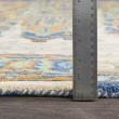 Product Image of Dark Blue, Khaki, Taupe, Burnt Orange (HNO-1001) Vintage / Overdyed Area Rug