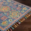 Product Image of Denim, Navy, Camel, Coral, Teal, Mustard Moroccan Area Rug