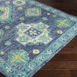 Product Image of Denim, Navy, Teal, Lime, Khaki Traditional / Oriental Area Rug