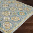 Product Image of Charcoal, Teal, Wheat, Camel, Dark Brown Traditional / Oriental Area Rug