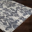 Product Image of Navy, Dark Blue, Khaki Ikat Area Rug