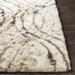 Product Image of Cream, Charcoal, Tan (CSR-1004) Shag Area Rug