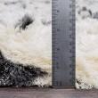 Product Image of Cream, Charcoal (CSR-1002) Shag Area Rug