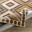 Product Image of Dark Brown, Beige, Dark Brown Southwestern / Lodge Area Rug