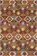 Product Image of Dark Brown, Clay Southwestern / Lodge Area Rug