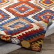 Product Image of Dark Red, Khaki, Camel Southwestern / Lodge Area Rug