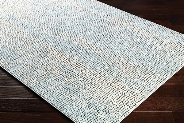 Charcoal, Medium Grey, Beige Contemporary / Modern Area Rug