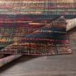 Product Image of Dark Red, Green, Saffron, Orange, Grey Contemporary / Modern Area Rug