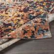 Product Image of Denim, Wheat, Saffron, Orange, Grey Abstract Area Rug