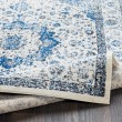 Product Image of Dark Blue, Navy, Pale Blue Vintage / Overdyed Area Rug
