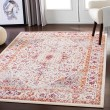 Product Image of Bright Orange, Grass Green Vintage / Overdyed Area Rug