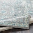 Product Image of Aqua, Silver Gray Traditional / Oriental Area Rug
