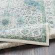 Product Image of Aqua, Grass Green Traditional / Oriental Area Rug