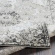 Product Image of Grey, Taupe, Camel, Black, White, Pale Blue Vintage / Overdyed Area Rug