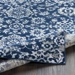 Product Image of Navy, White, Grey, Camel, Taupe, Pale Blue Traditional / Oriental Area Rug