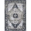 Product Image of Grey, Taupe, White, Navy, Pale Blue, Light Grey Traditional / Oriental Area Rug