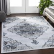 Product Image of Light Grey, Taupe, Navy, White, Camel, Pale Blue Traditional / Oriental Area Rug