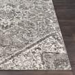 Product Image of Grey, Light Grey, Black, White Vintage / Overdyed Area Rug