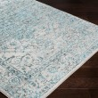 Product Image of Pale Blue, Bright Blue, Lavender Vintage / Overdyed Area Rug