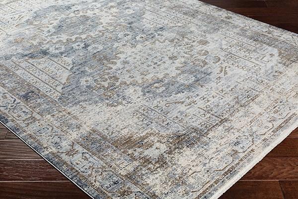 Charcoal, Medium Gray Vintage / Overdyed Area Rug
