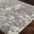 Product Image of Charcoal, Medium Gray Abstract Area Rug