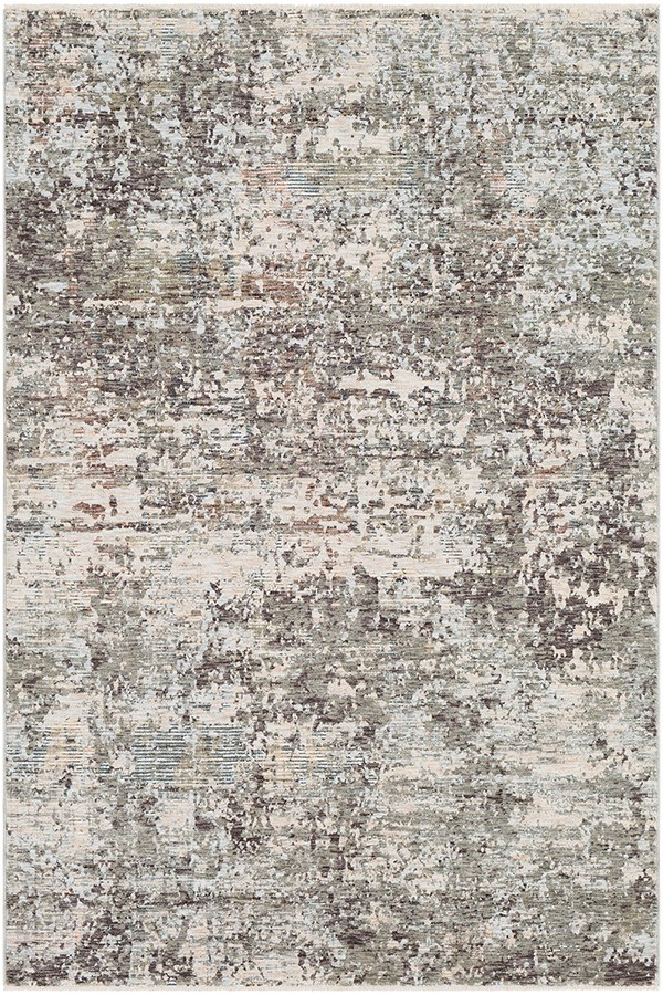 Medium Gray, Medium Gray Contemporary / Modern Area Rug