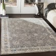 Product Image of Lime, Medium Gray, White Vintage / Overdyed Area Rug