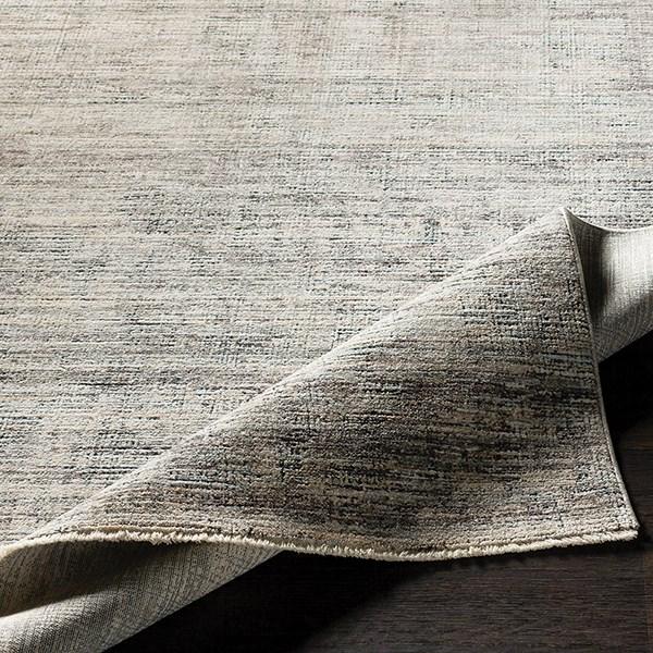 Medium Gray, Medium Gray Casual Area Rug