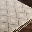 Product Image of Taupe, Cream, Light Gray Moroccan Area Rug