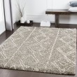 Product Image of Taupe, Khaki, White Moroccan Area Rug