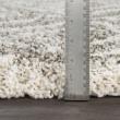 Product Image of Taupe, White, Khaki Shag Area Rug