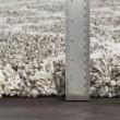 Product Image of Dark Brown, Khaki, White Shag Area Rug