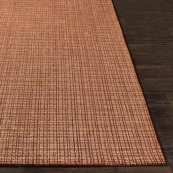 Garnet, Wheat (TTA-1002) Rustic / Farmhouse Area Rug