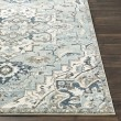 Product Image of Medium Gray, Teal, Denim (MEP-2311) Traditional / Oriental Area Rug